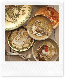 pottery barn_christmas salad plates