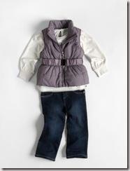 ck girls vest set