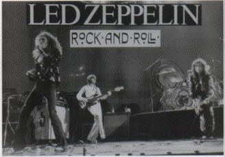 Led Zeppelin Rock and Roll Large