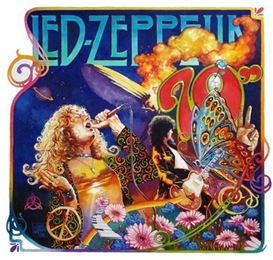 LED ZEPPELIN FLOWER