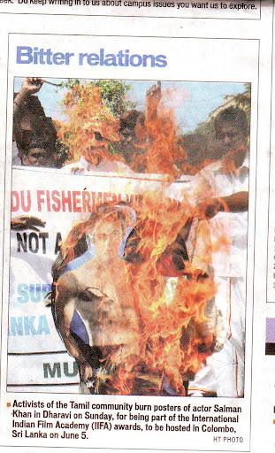 இந்துஸ்தான் டைம்ஸ் ஆங்கில நாளிதழில் வெளிவந்த செய்தி 31/05/2010