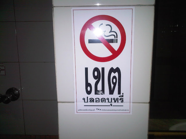 Meaning of picture : Don't smoking area
