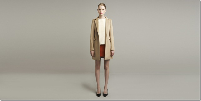 camel trench coat autumn winter 2011