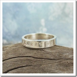 Keep Calm and Carry On Ring by TwoSilverMoons on Etys