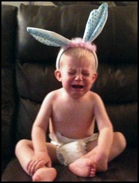 wyatt and the bunny ears.