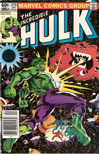 Incredible Hulk #270 cover