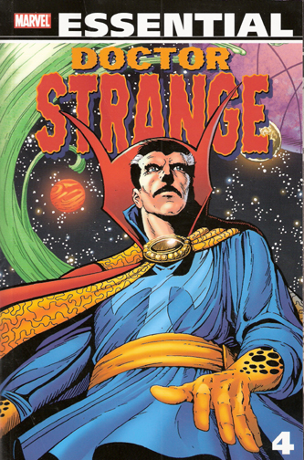 Essential Dr. Strange, v. 4 cover