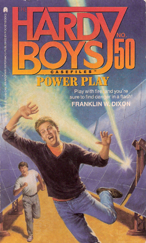 Hardy Boys Casefile #50 Power Play cover