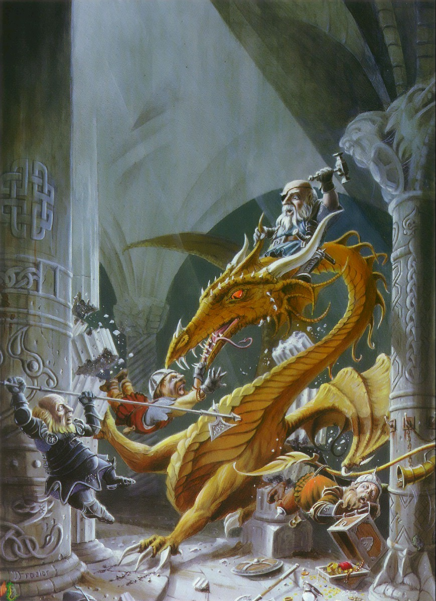 Halls of Avarice, de Dan Frazier