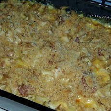 Pasta Bake with Corned Beef