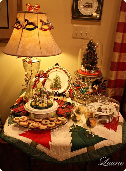 dessert table-full
