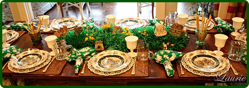 2012 St. Patrick's Table
