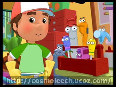 Ο ΜΑΣΤΟΡΑΚΟΣ XANTI MANI - HANDY MANNY -  S02 - E31 - Manny To The Rescue & Handy Hut N.M.S. (ET1)