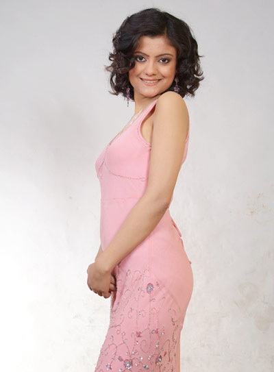 pallavi dhakal pink dress