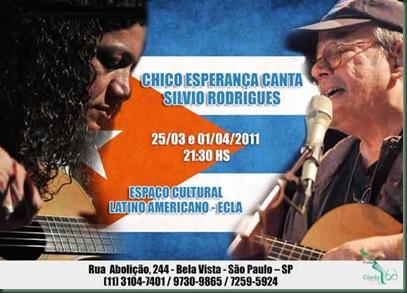 Chico Esperança canta Silvio RodriguesA