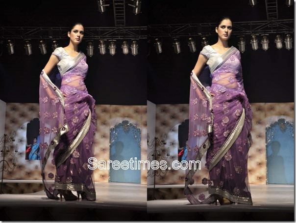 Umair_Zafar_Purple_Designer_Saree
