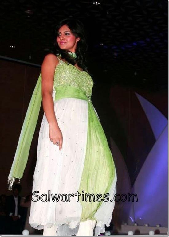 White_Green_Designer_Salwar_Kameez