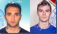 Ιωάννης Ευαγγελινέλης (23 ετών) & Γιώργος Σκυλογιάννης (22 ετών)