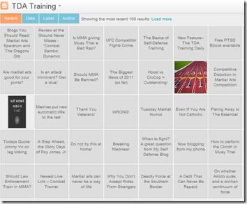 TDA Training Flipcard View