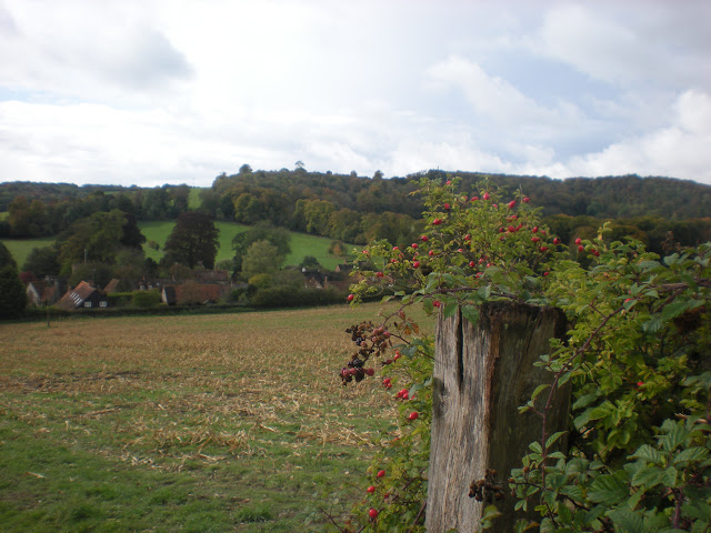 Looking back to Turville