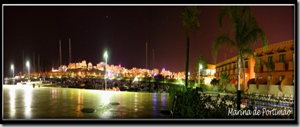marina de portimao@night