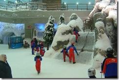 snow in dubai