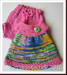 Knit Overalls 021