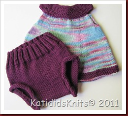 Knit Overalls 024