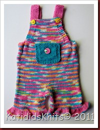 Knit Overalls 034