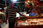 Du poisson tout frais prêt pour le barbecue!