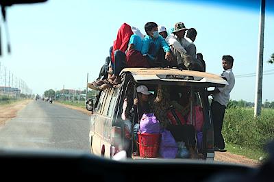 En route pour Kep
