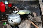 Le repas est presque prêt