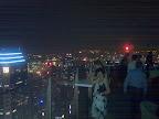 En haut du skybar, à 280 mètres