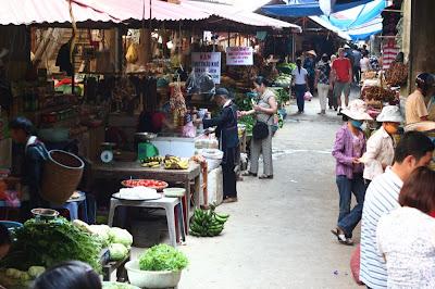 Le marché de Sapa