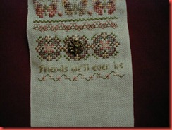 Friendship Sampler part 3