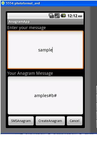 AnagramCreator