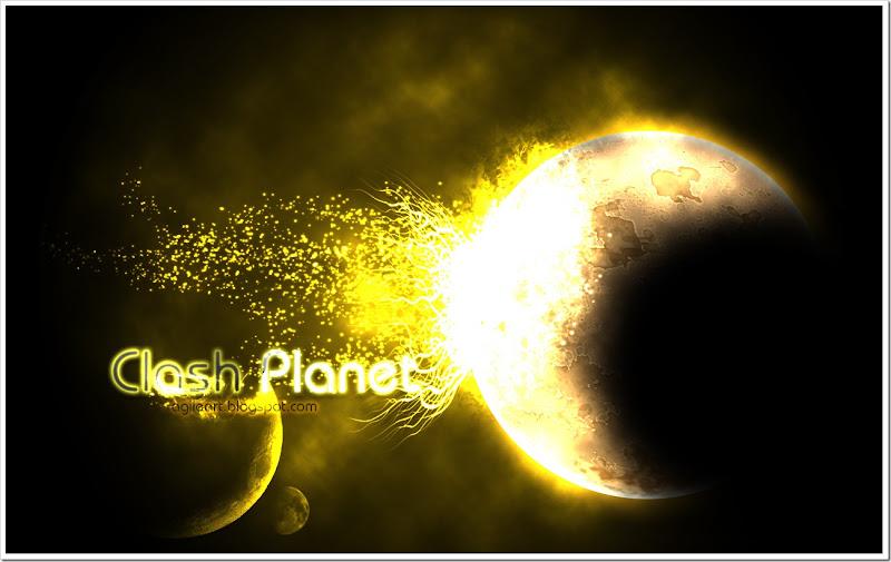 crashes planet