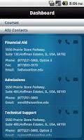 Screenshot of AIU Mobile – Phone