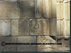 marcas de canteros en Concatedral de S. Maria