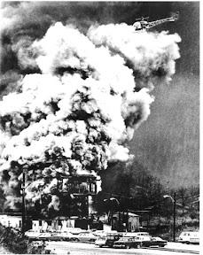 Coal mine explosion