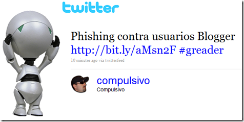 tweet-compulsivo-phishing-blogger