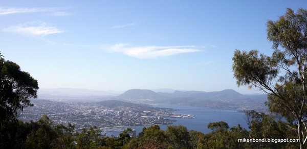 Hobart views from signal station