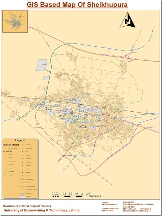 Sheikhupura GIS