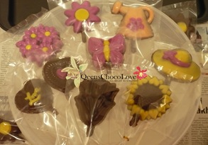 coklat oreo bunga