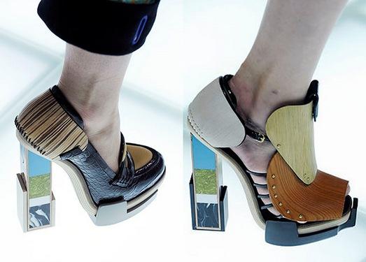 bakelita shoes balenciaga