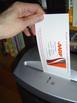 image of an AARP card