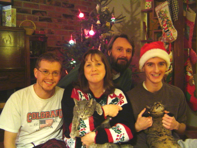 christmas family photo