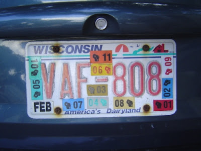 image of license plate