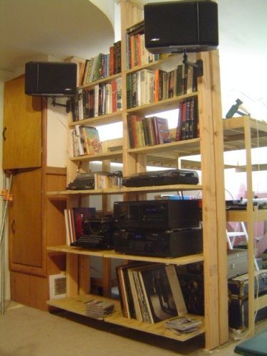 image of book shelves