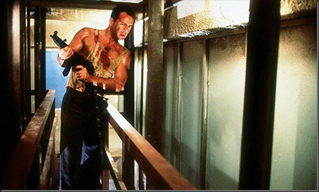 Willis as John McClane